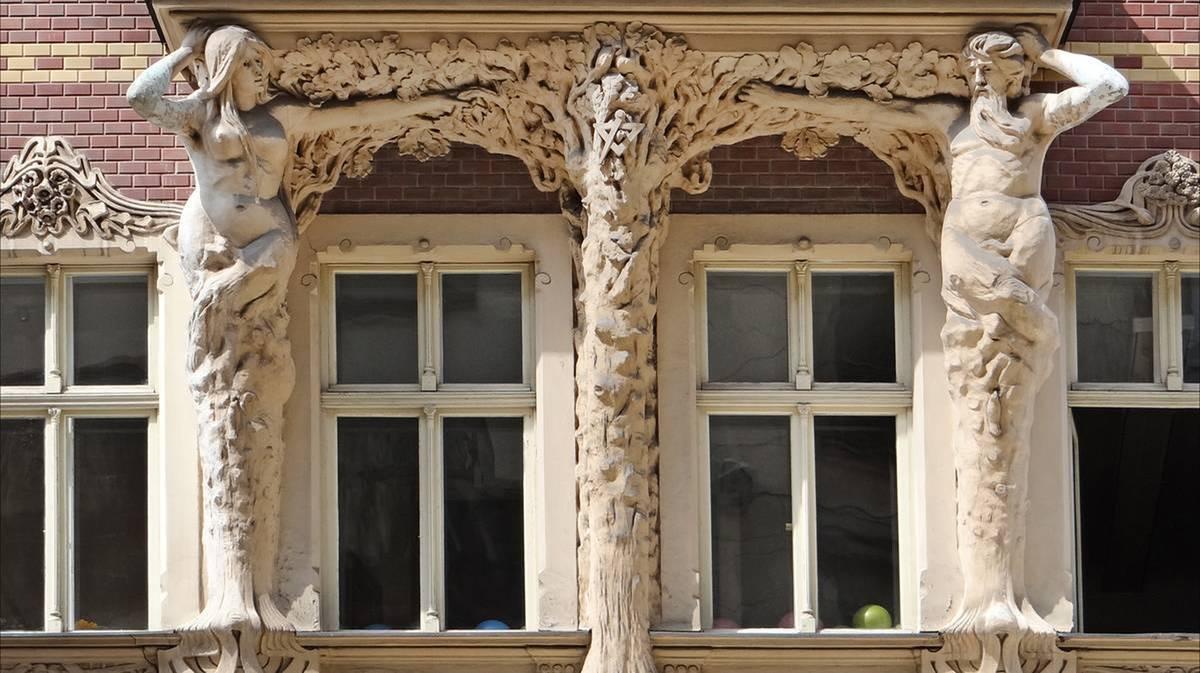 Edificios de Art Nouveau Riga