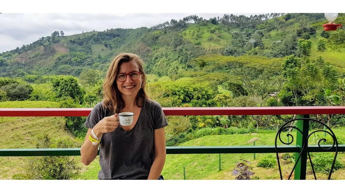 Vistas desde el balcón de Ocaso Coffee House