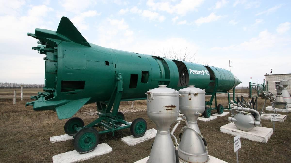Base de misiles nucleares en Pervomaysk