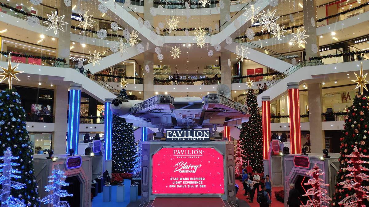 Centro comercial Pavilion en Bukit Bintang