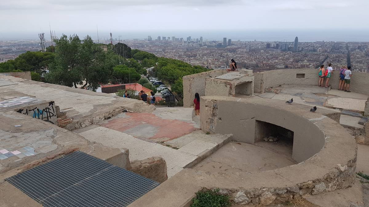 Carmel Bunkers Barcelona The Best 360 Panoramic View Of Barcelona