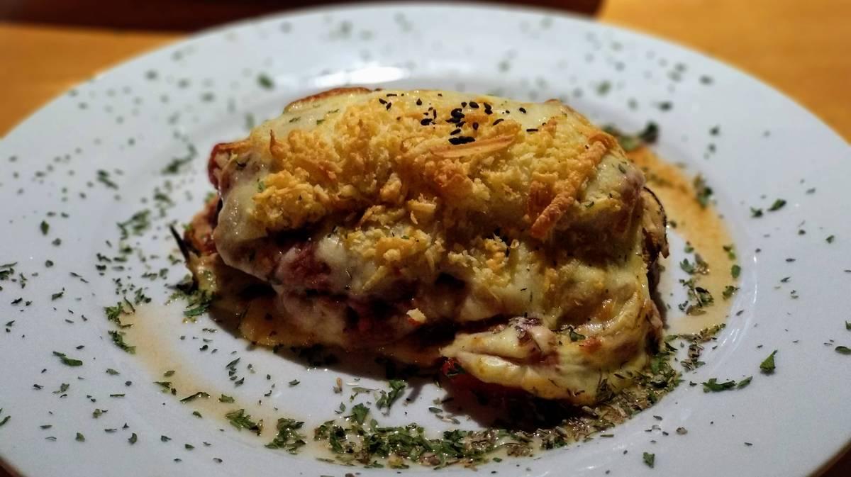 cafe bernabe gourmet lasaña