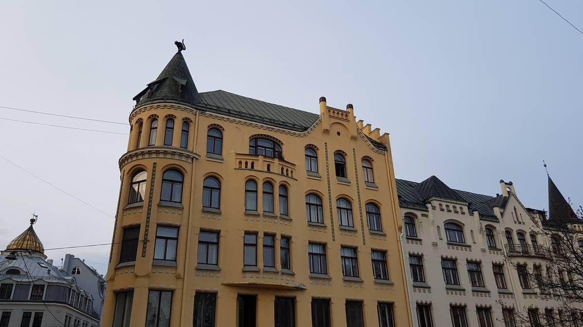 Casa del gato en Riga