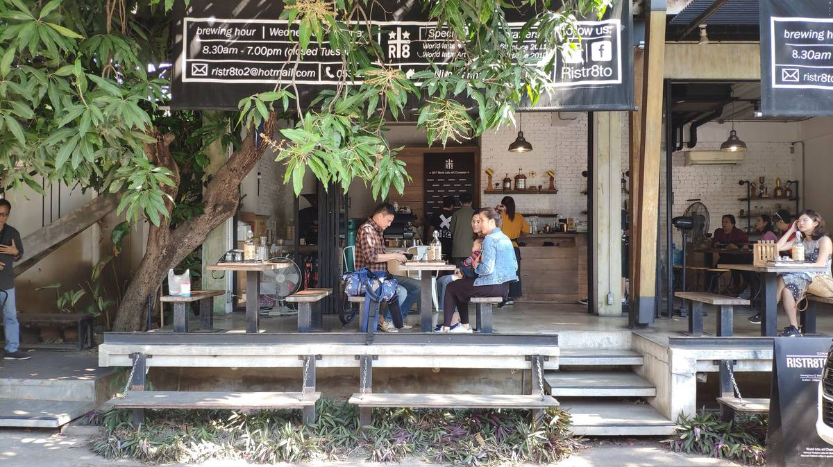 Cafeterías Chiang Mai - Ristr8to Lab