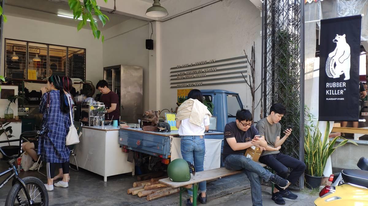 Cafeterías Chiang Mai - Rubber Killer Cafe