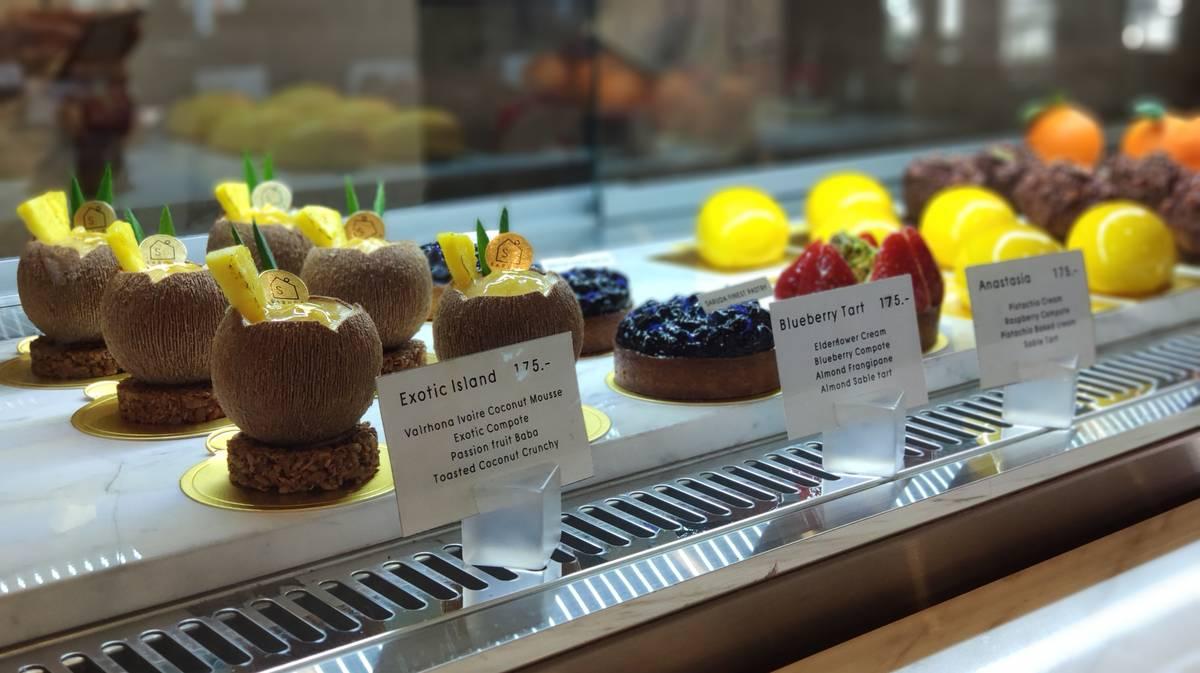 Cafeterías Chiang Mai - Saruda Finest Pastry