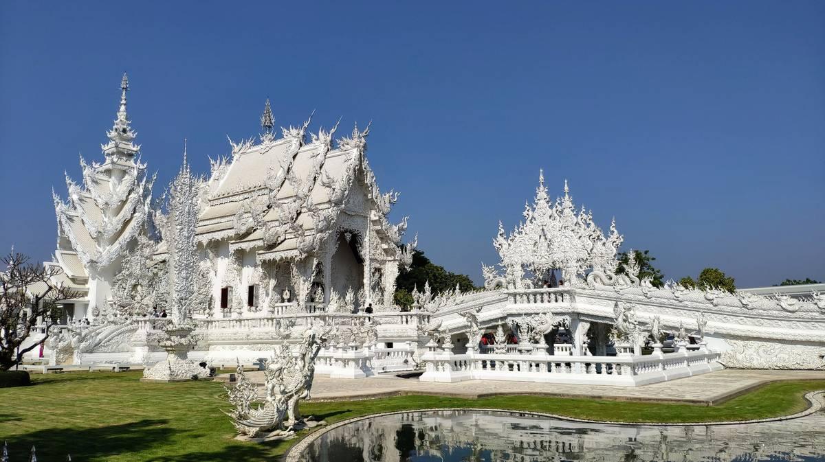 Wat Rong Khun o Templo Blanco de Chiang Rai
