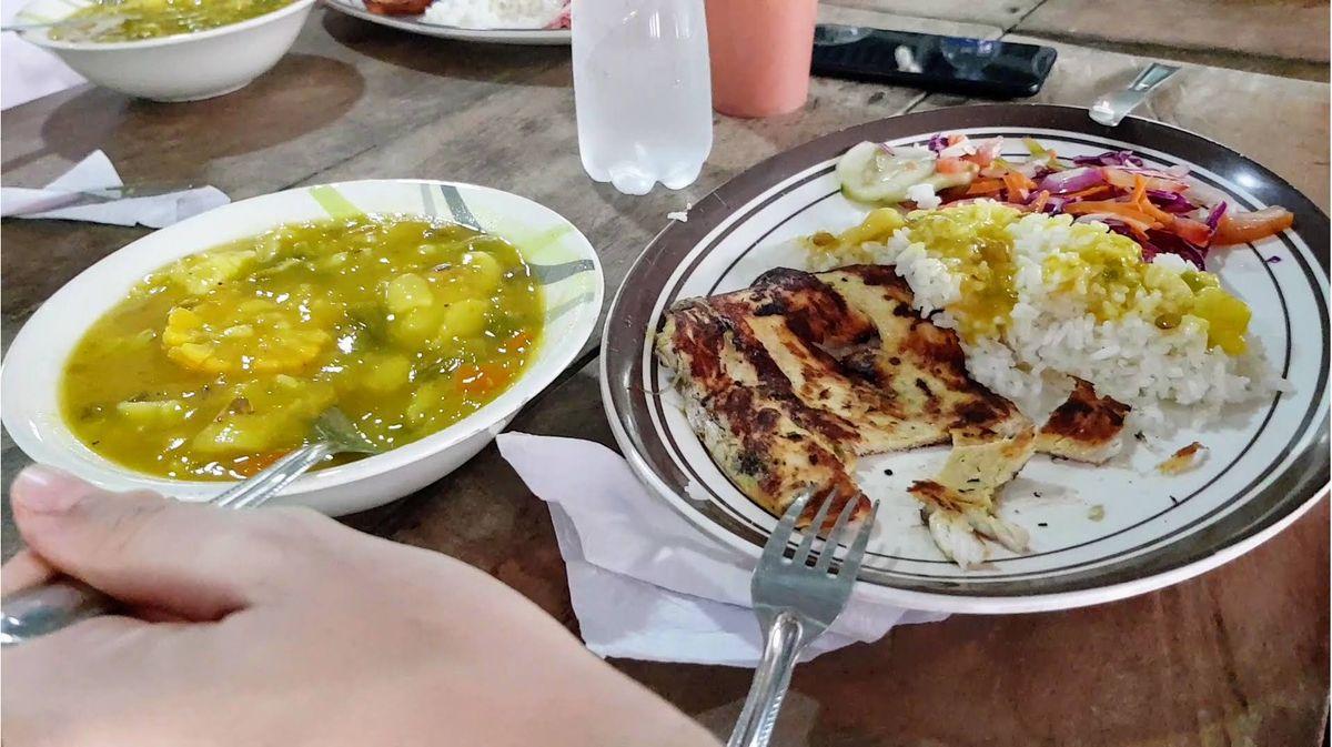 comida campamento paraiso teyuna