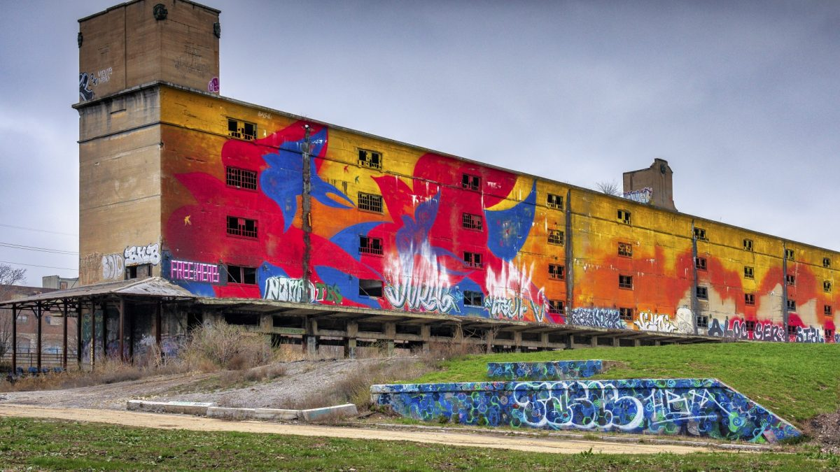 Cotton Belt Freight Depot, antigua terminal de tren abandonada