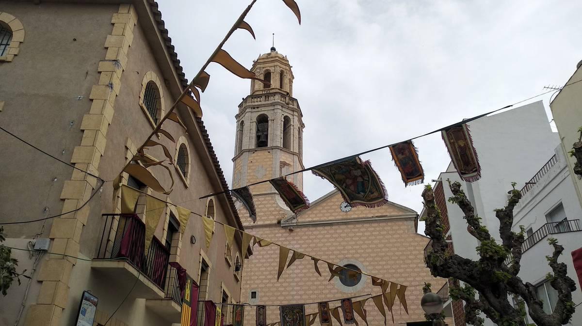 cubelles iglesia de santa maria