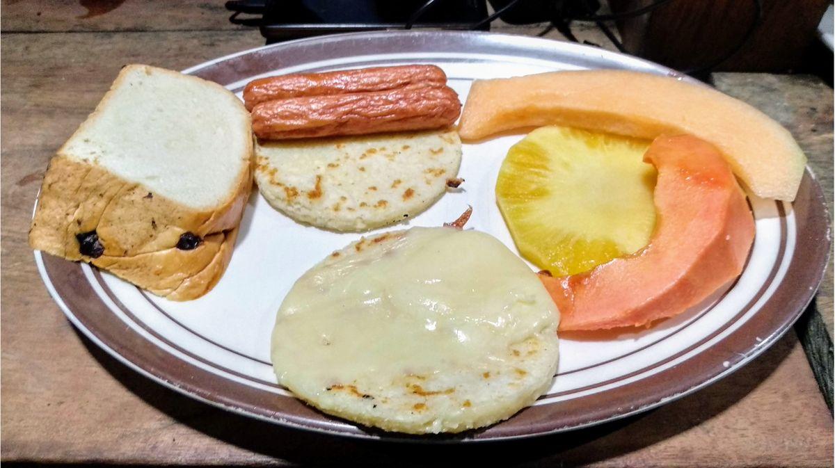 Paraiso Teyuna Camp breakfast