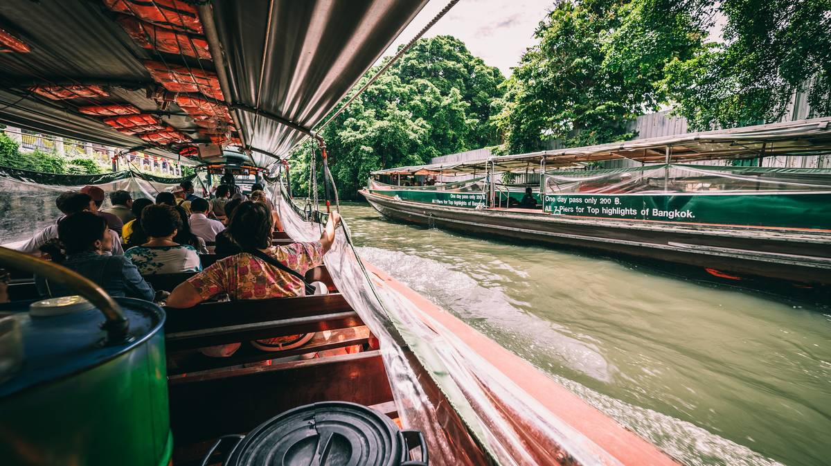 ferry local bangkok