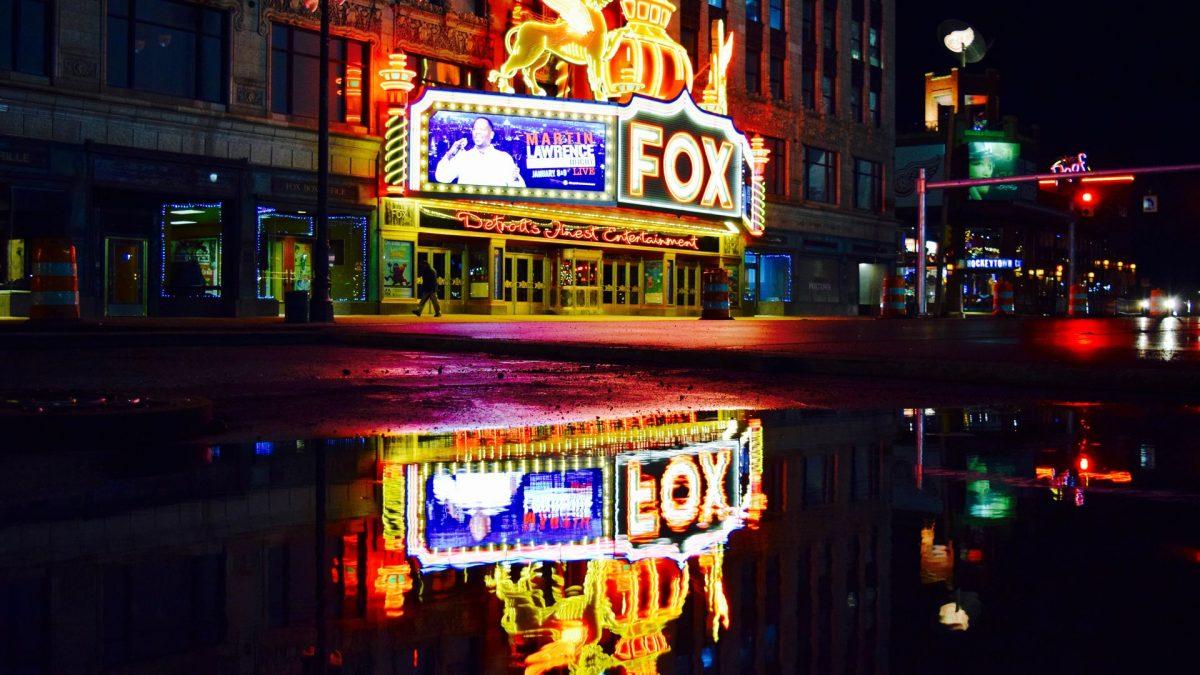 Fox Theatre en Detroit