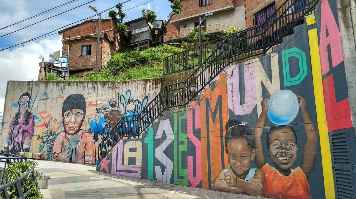 Graffiti Tour Comuna 13