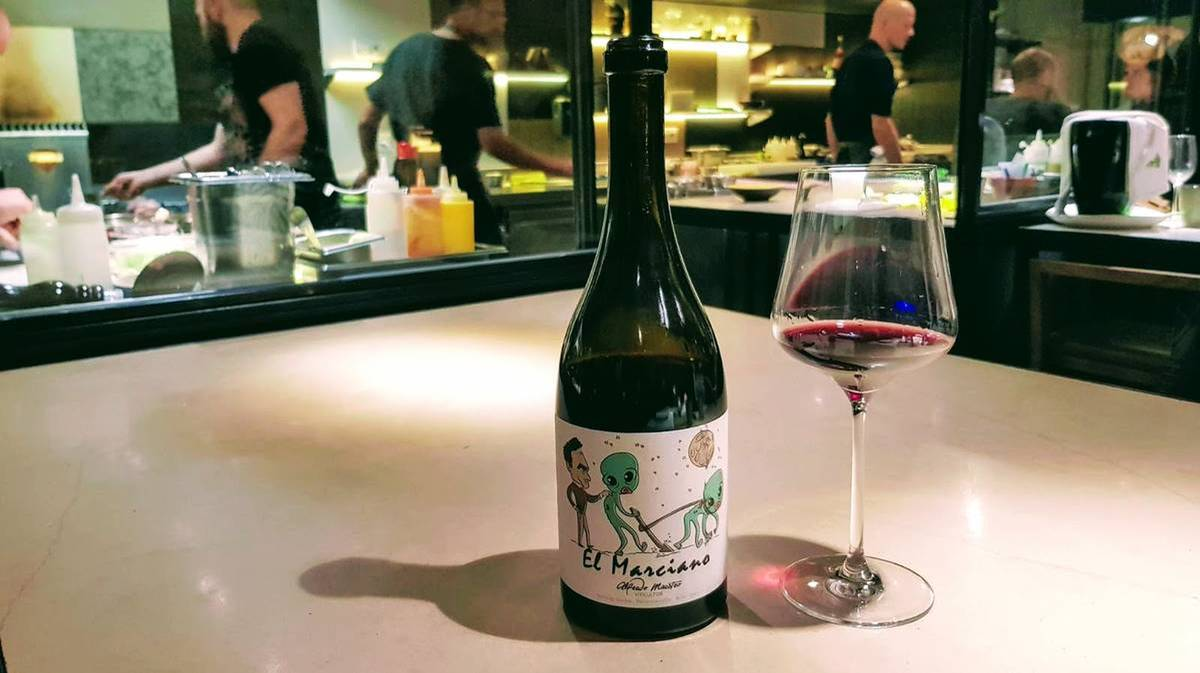 ḦETTA Cuisine - Wine el Marciano