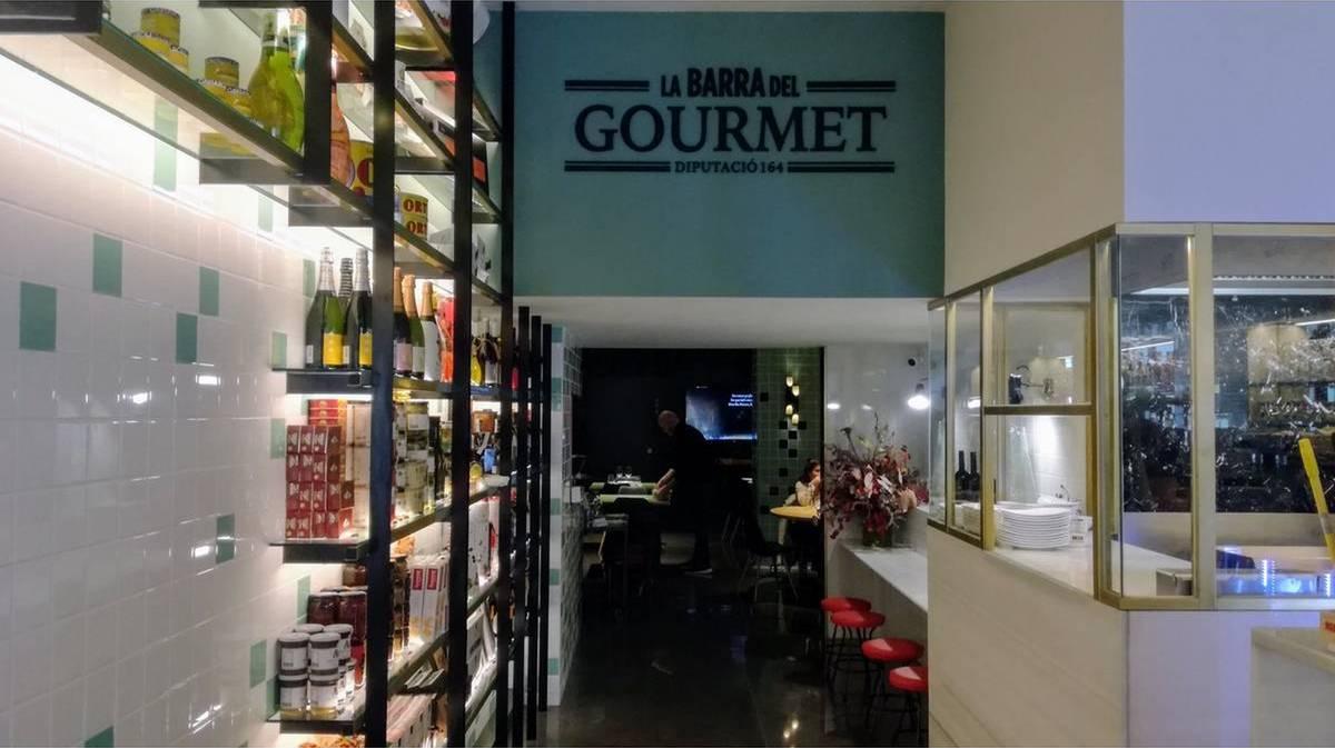 la barra del gourmet barcelona