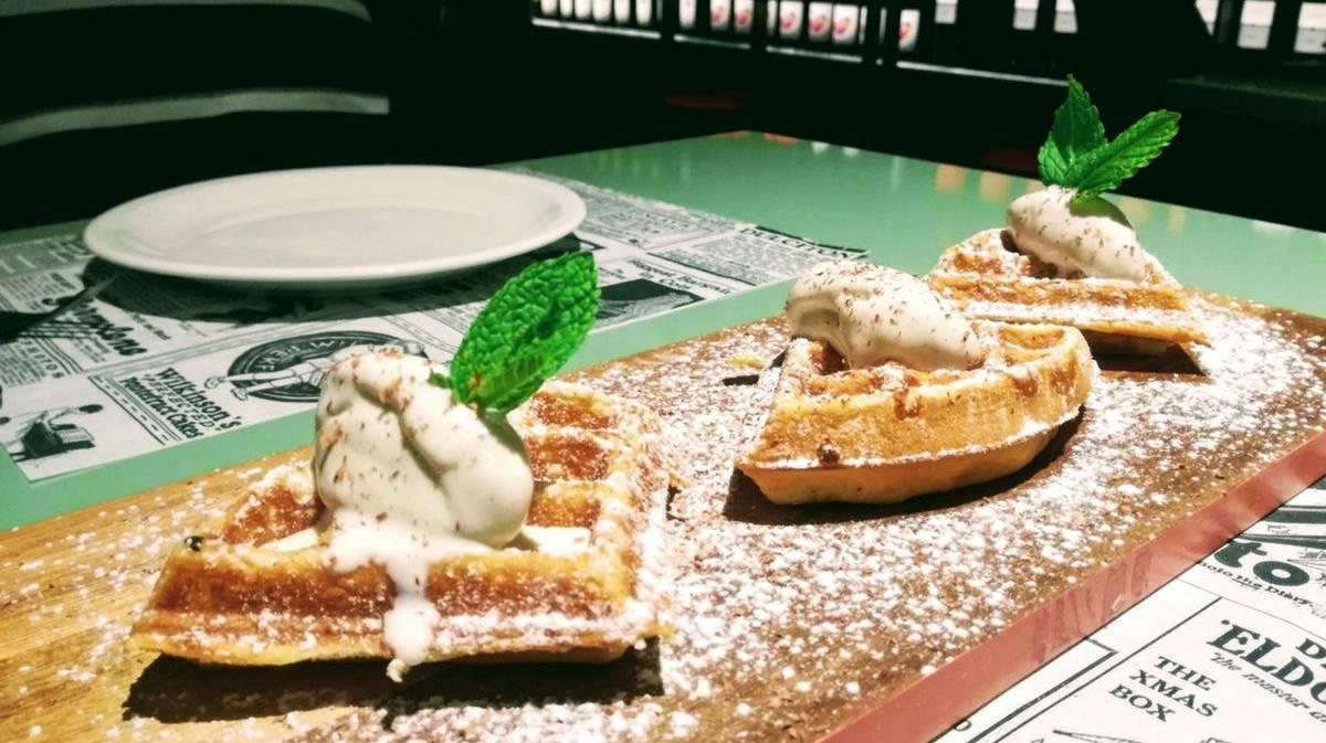 La Barra del Gourmet - Waffle de Goofretti