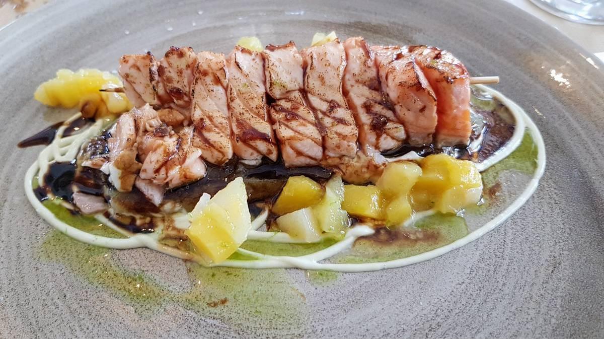 Limonero - Tataki de salmón