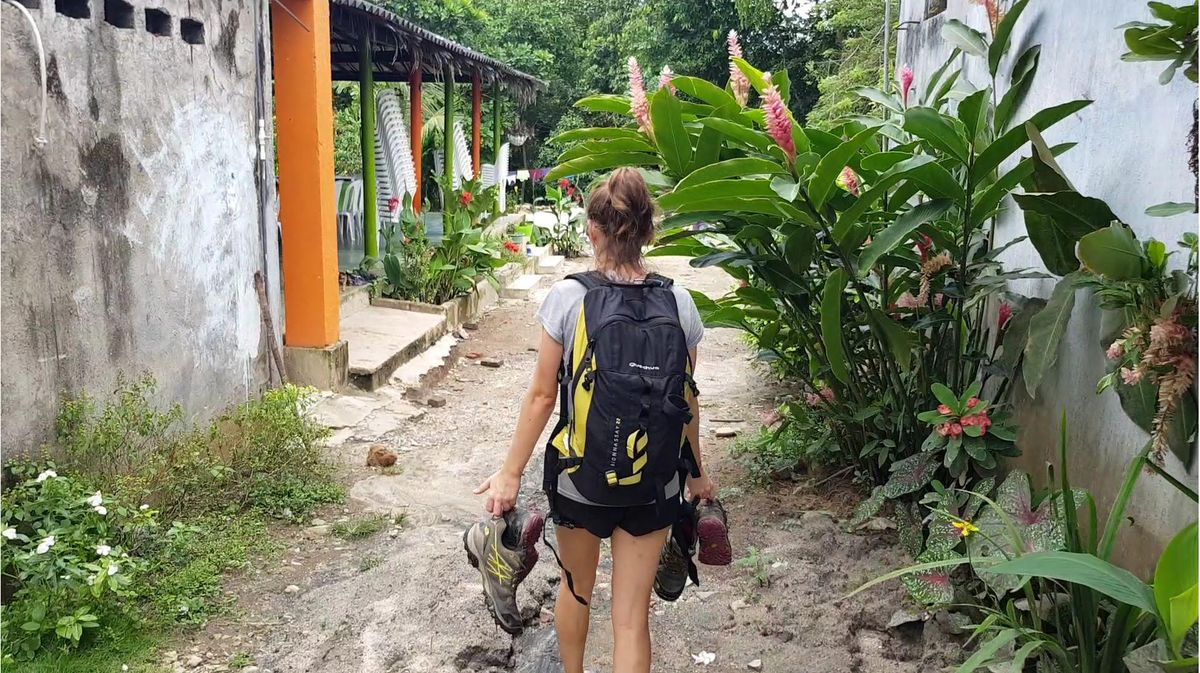 Arrival at Machete Pelao