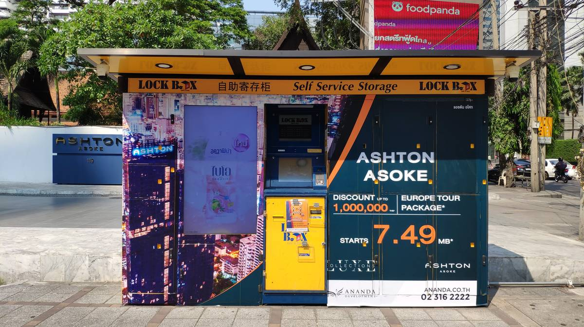 lockbox parada metro sukhumvit