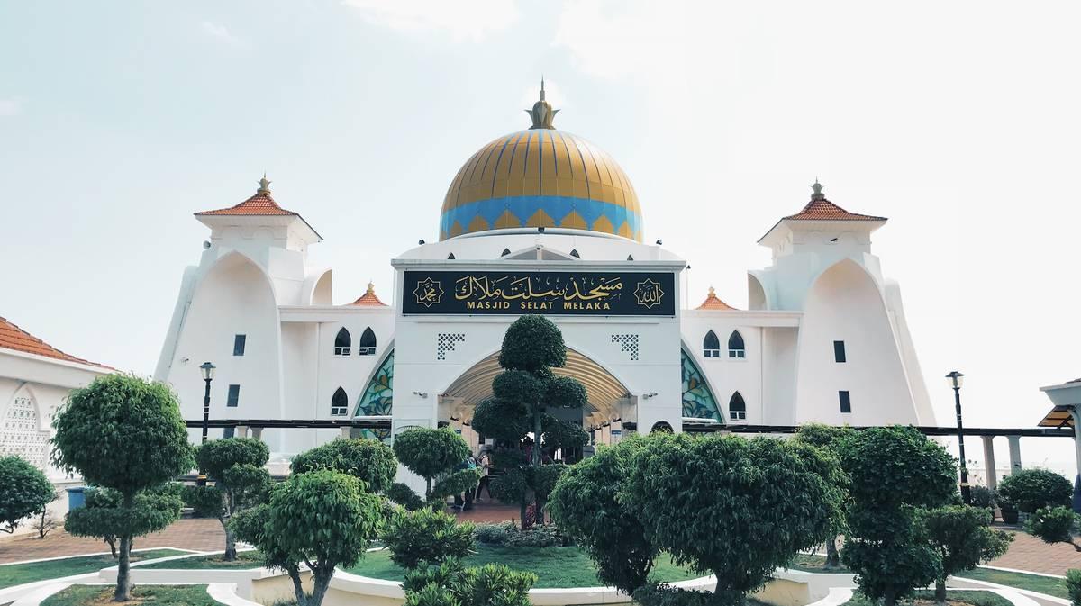 malaca mezquita estrecho malaca