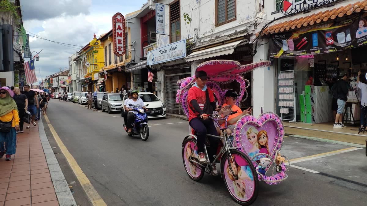 malaca rickshaw
