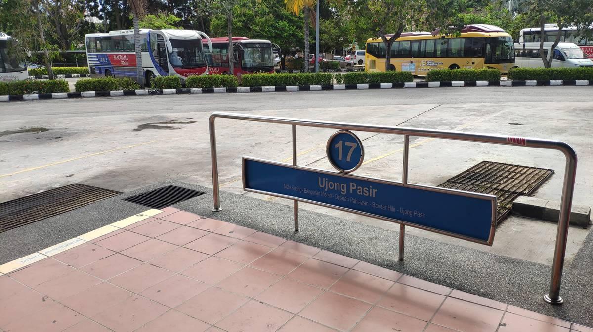 Melaka Sentral - Plataforma 17 - Malaca City