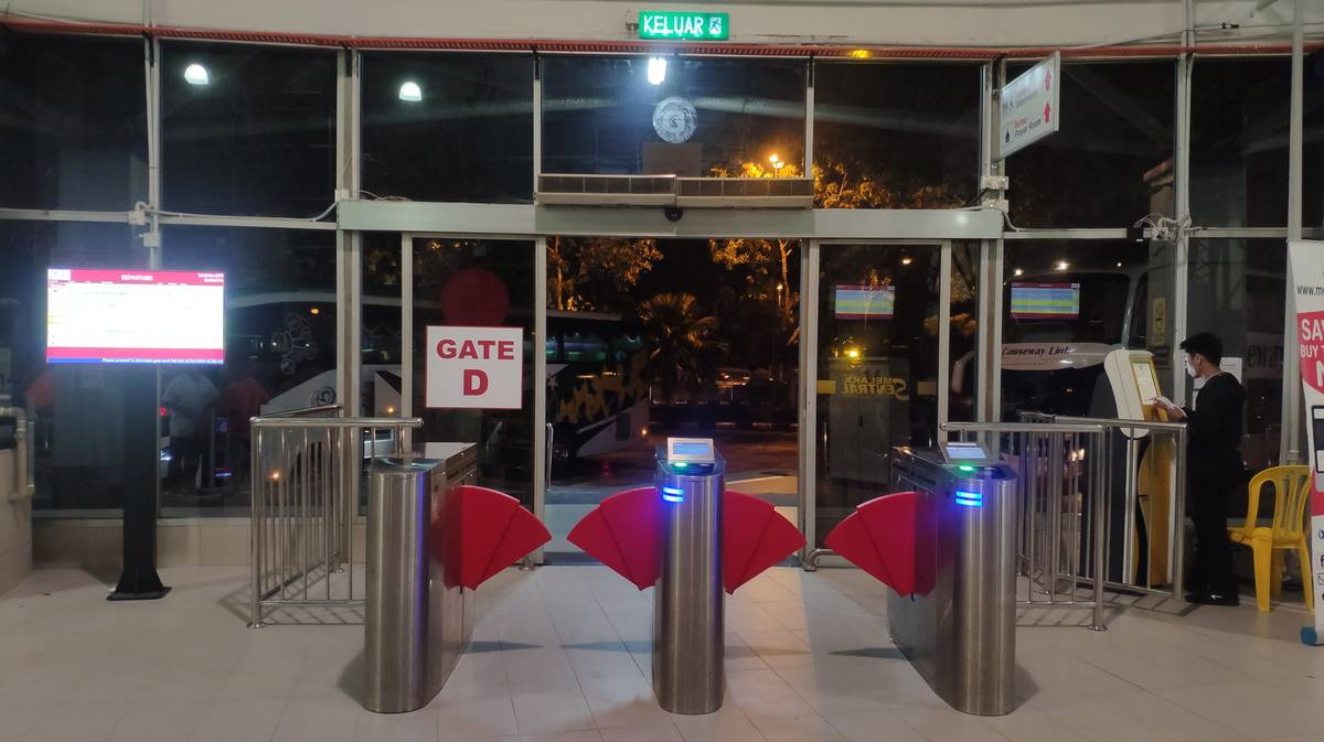 Melaka Sentral Puerta D Plataforma 14