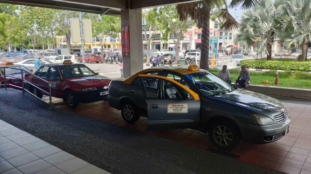 Melaka Sentral - Taxi
