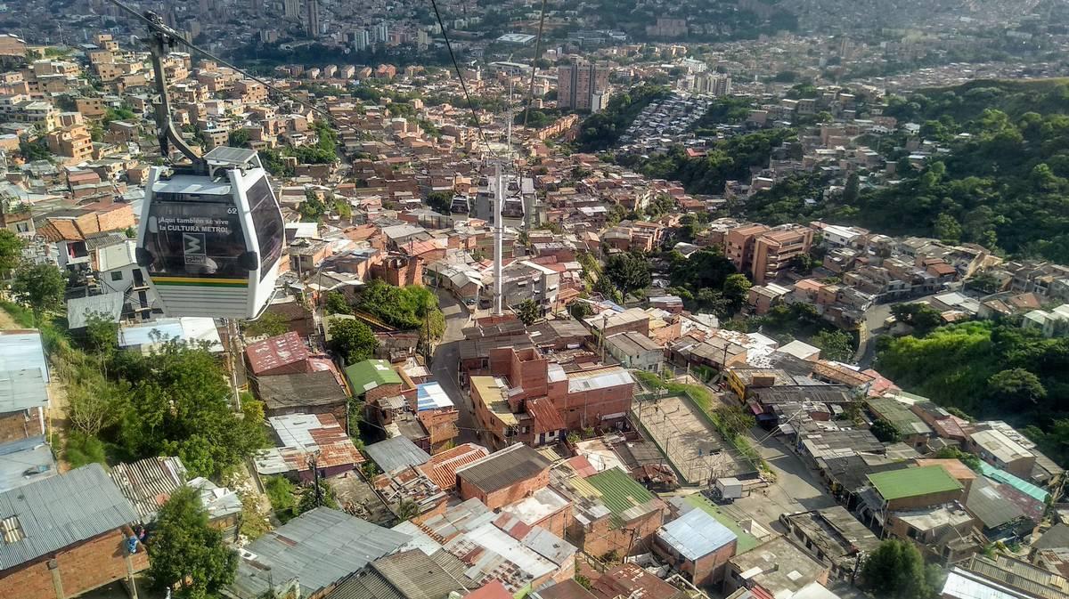 Metrocable San Javier Comuna 13