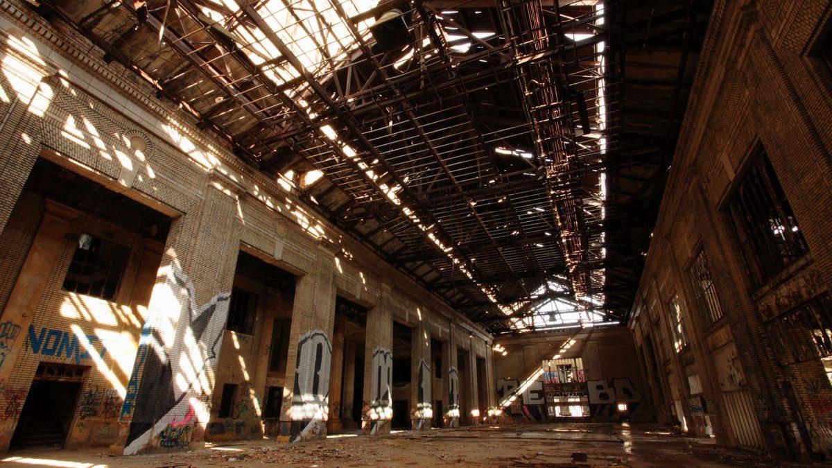 Michigan Central Train Depot