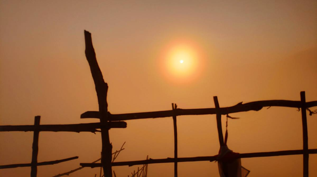 monte batur amanecer