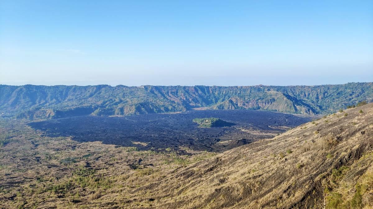 monte batur lava
