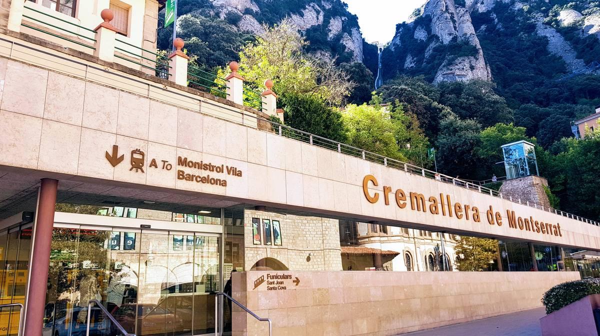 Estación del Cremallera de Montserrat