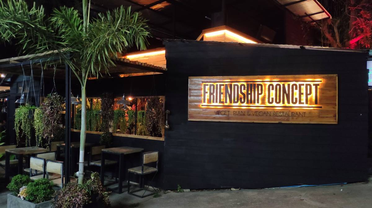pai restaurante friendship concept