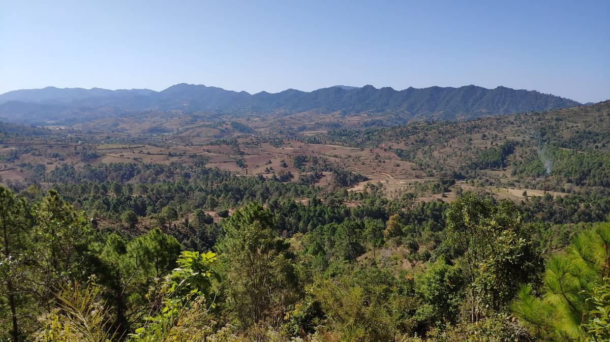 Paisajes mediterráneos en Myanmar