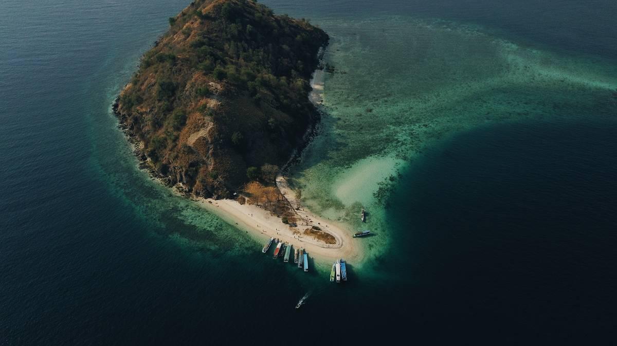 parque nacional komodo isla kelor