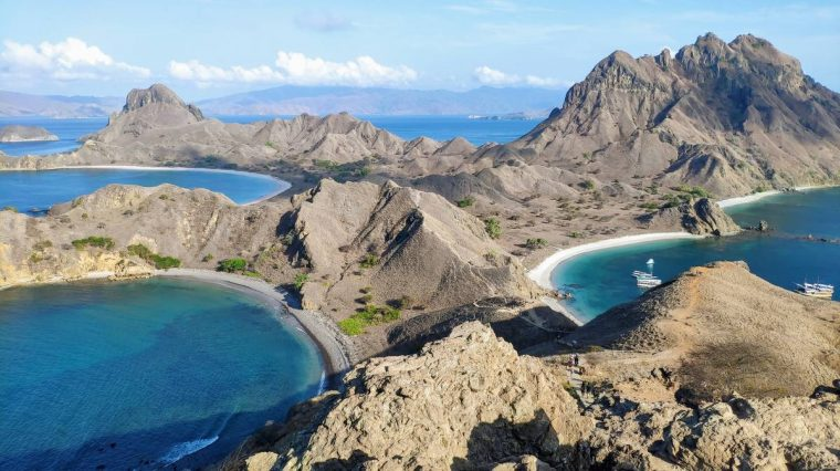 parque nacional komodo isla padar