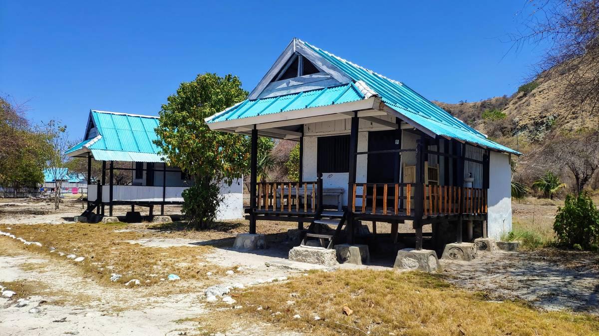 parque nacional komodo kanawa resort abandonado