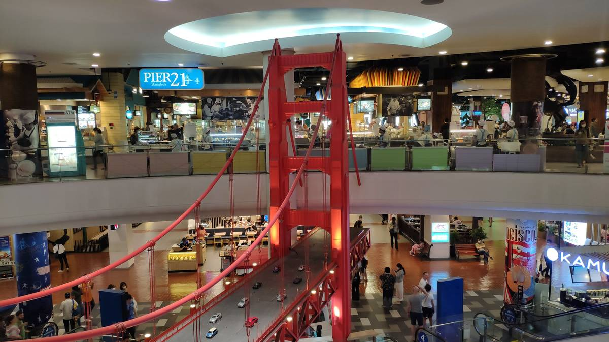 pier21 food court terminal21