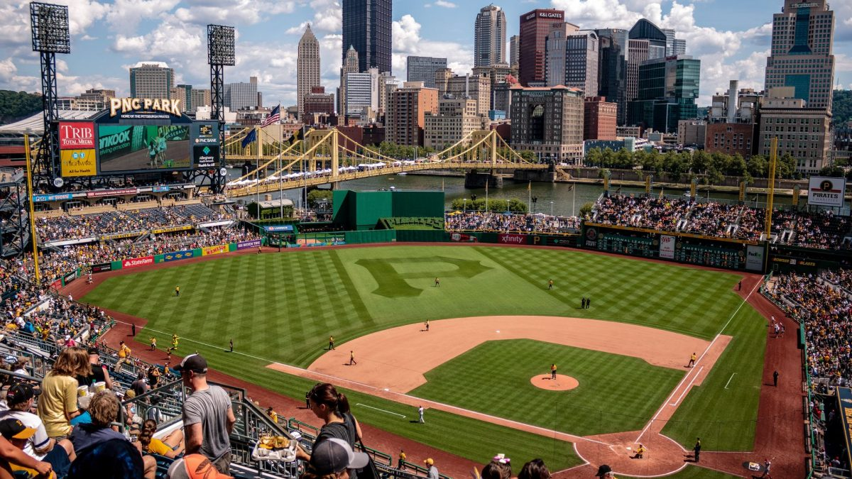Estadio de béisbol PNC Park, sede local de los Pittsburgh Pirates