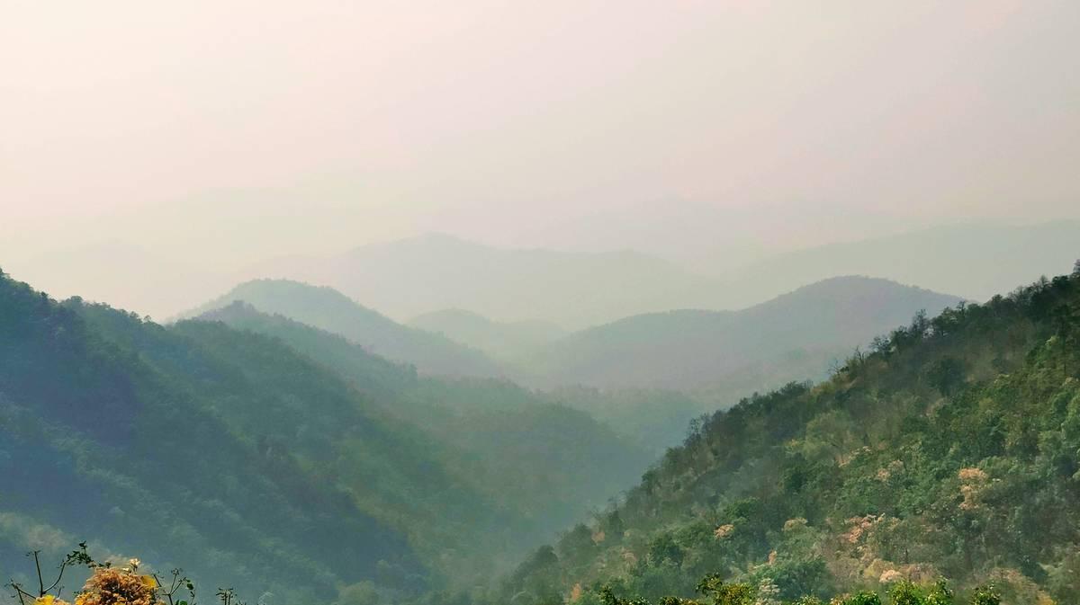samoeng loop samoeng forest viewpoint