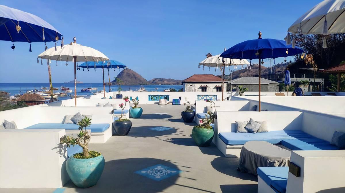 seaesta hostel terraza