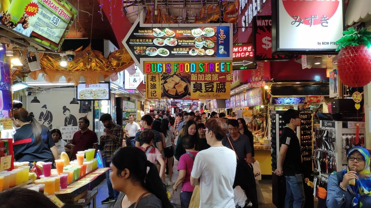 Bugis Street en Singapur