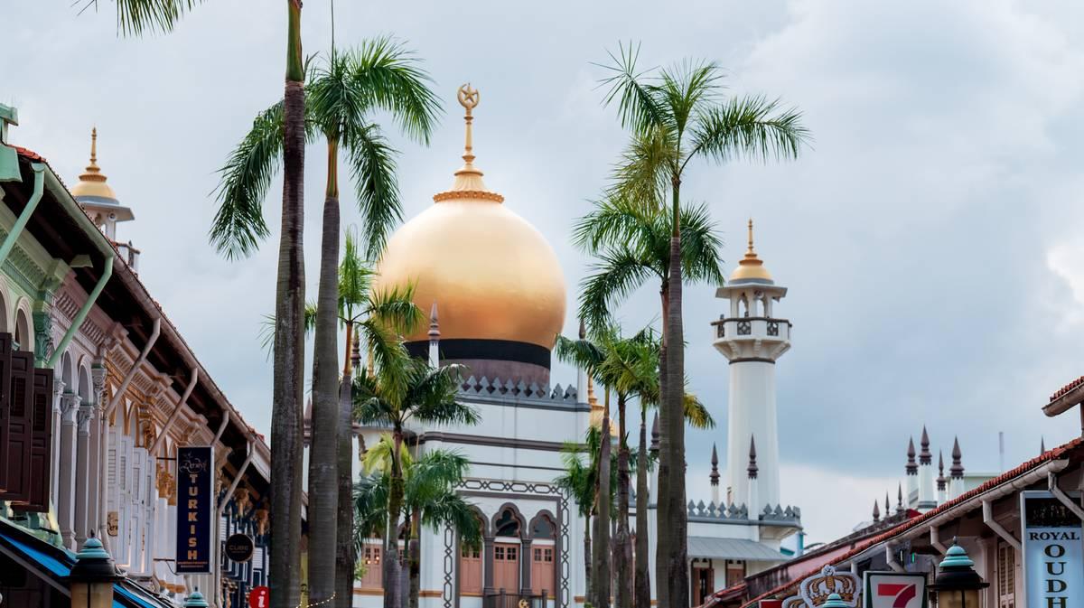 Haji Lane en el barrio árabe de Singapur