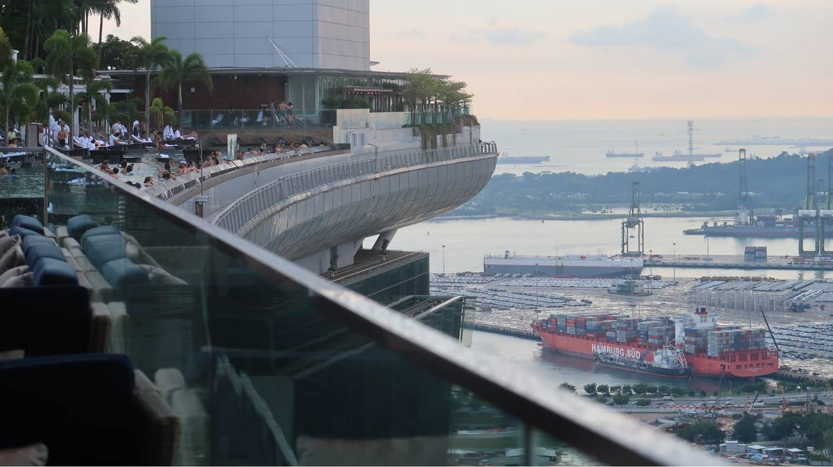 singapur marina bay sands rooftop bar