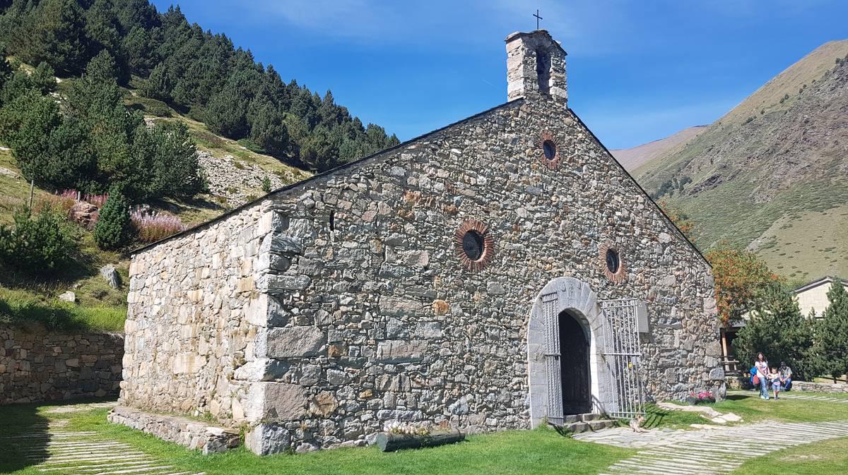 vall de nuria ermita de San Gil