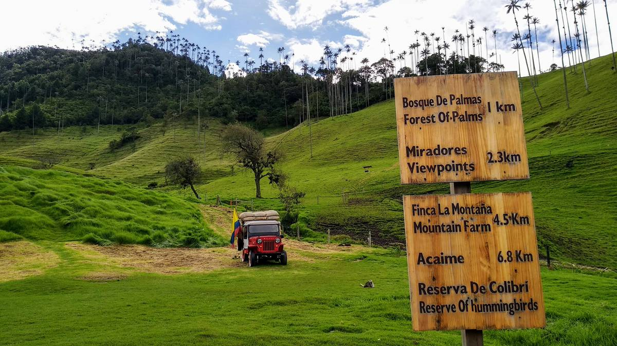 cocora valley itinerary