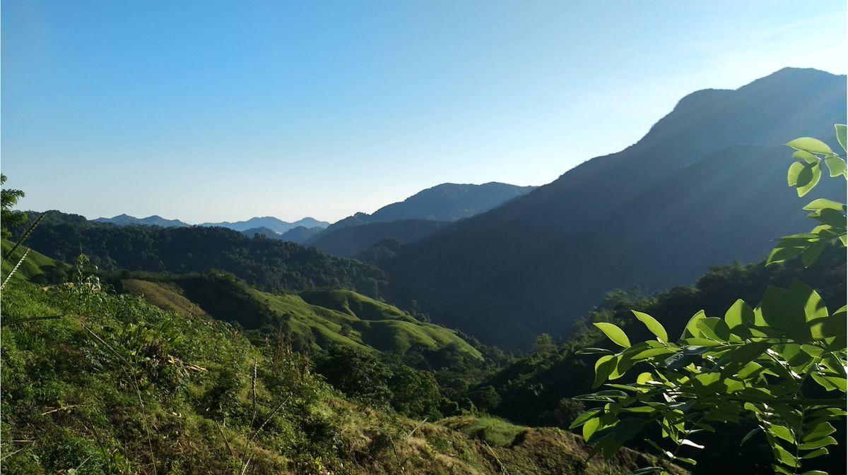 Sierra Nevada morning views