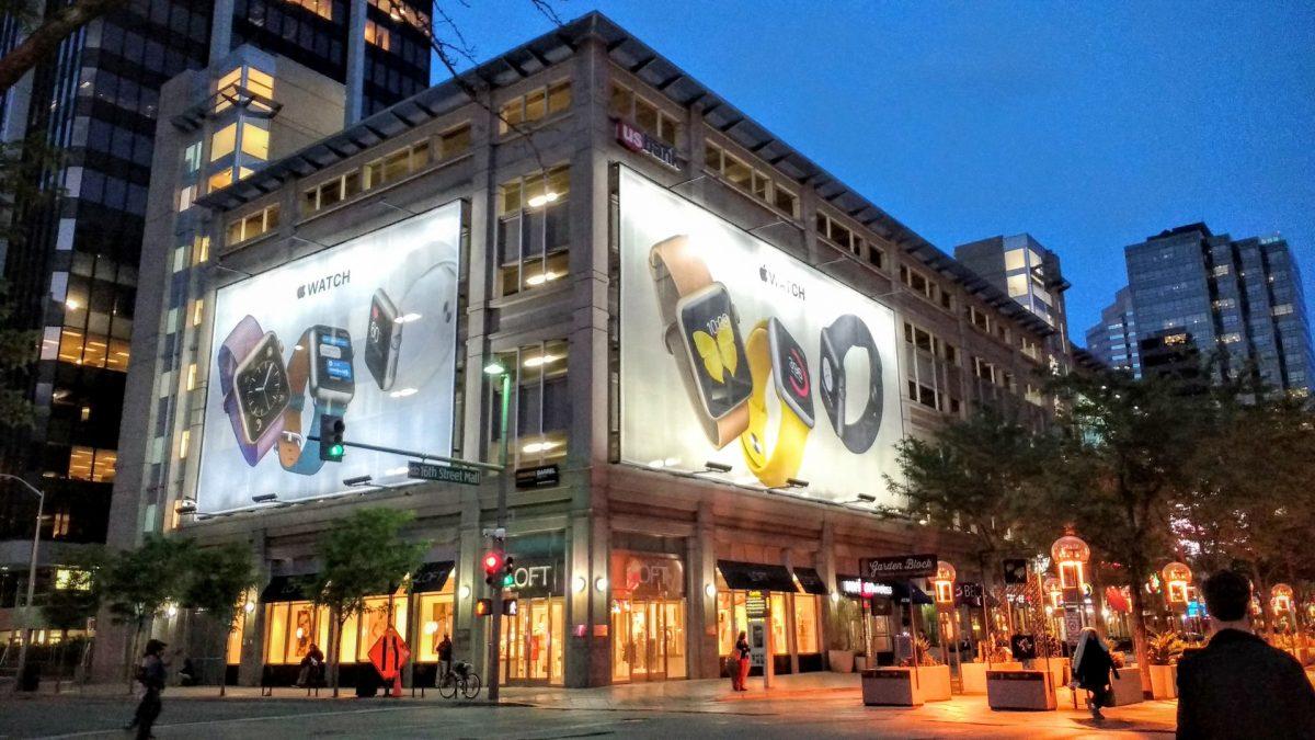 16th Street Mall en Downtown Denver